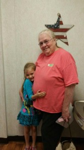 Mother's Day Contest Winner Katelyn Osborne and Nana