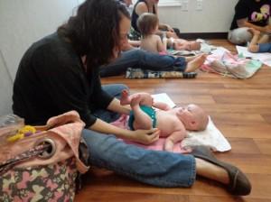 August 2012 Hellein Massage Class