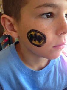 May 2014 Chick Fil A Face Paint 2