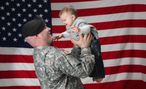 Baby American Flag