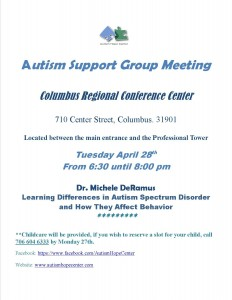 support group meeting April